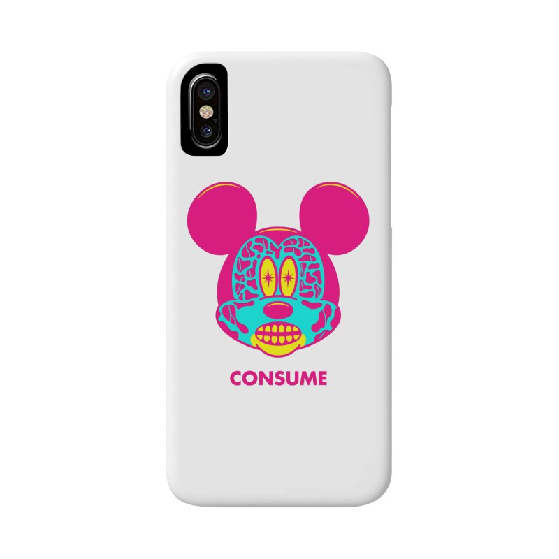 Consume Accessories Phone Case by Quick Brown Fox