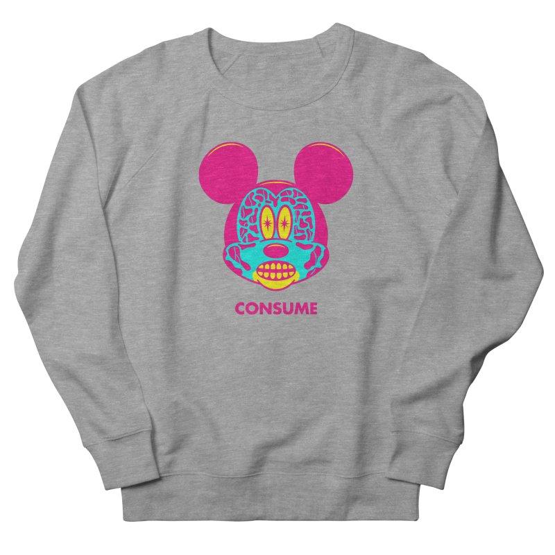 Consume Men's Sweatshirt by Quick Brown Fox