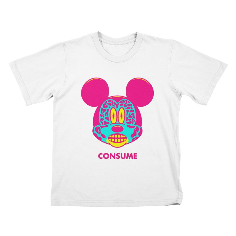 Consume Kids T-shirt by Quick Brown Fox