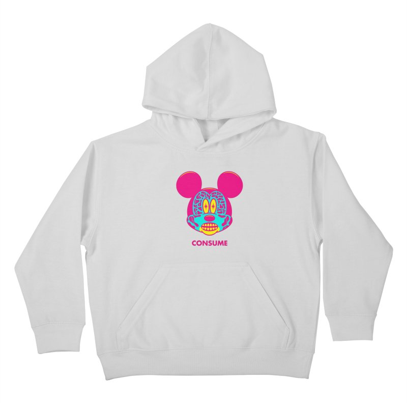 Consume Kids Pullover Hoody by Quick Brown Fox