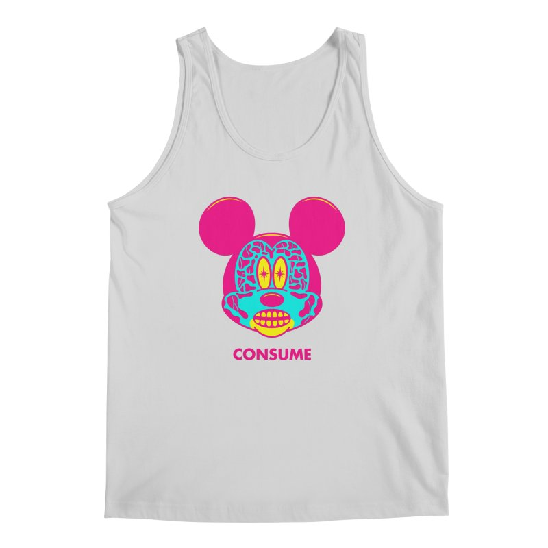 Consume Men's Tank by Quick Brown Fox