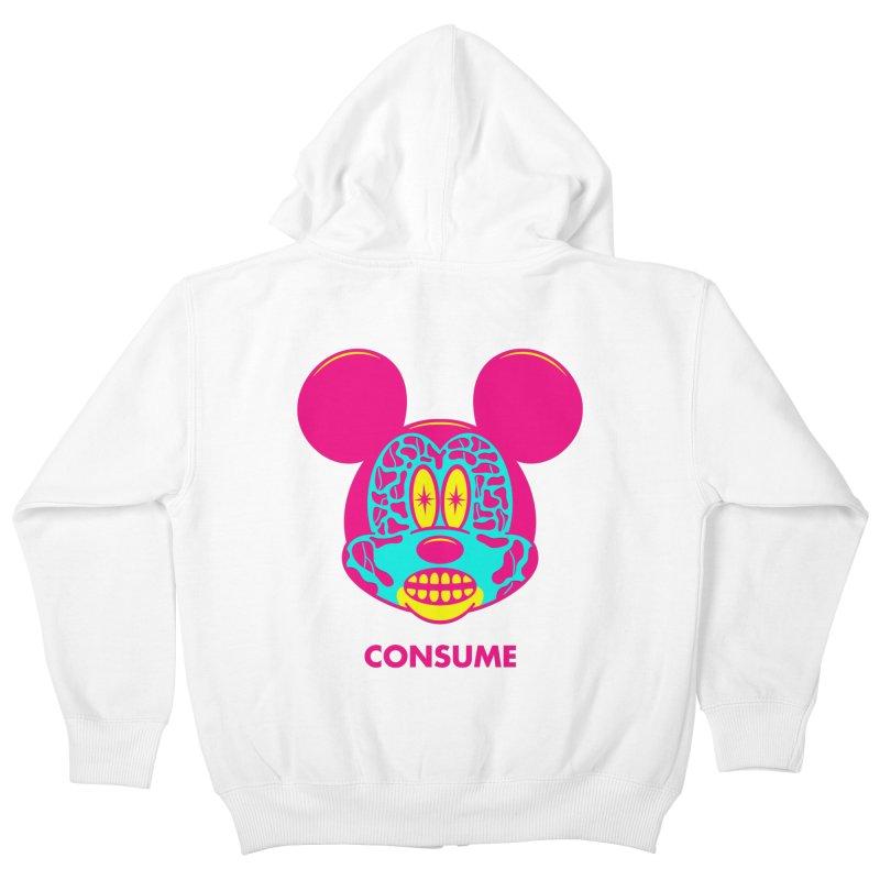 Consume Kids Zip-Up Hoody by Quick Brown Fox