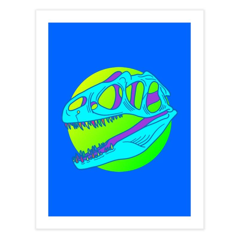 Neonadon Home Fine Art Print by Quick Brown Fox