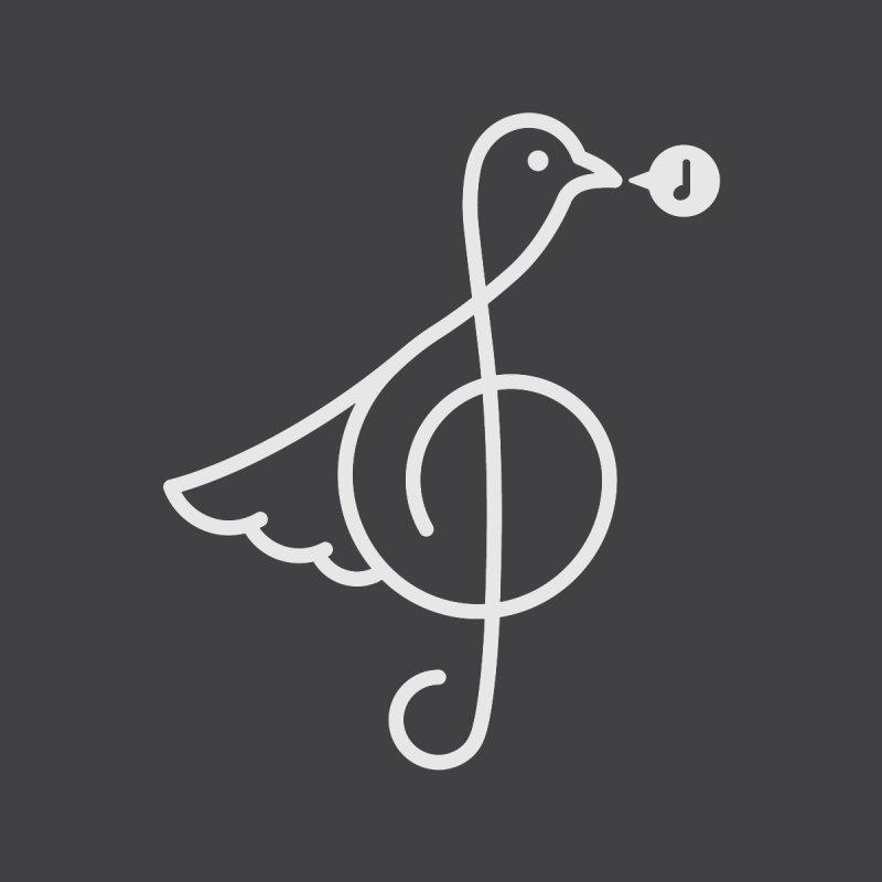 Bird Song Men's T-Shirt by Quick Brown Fox
