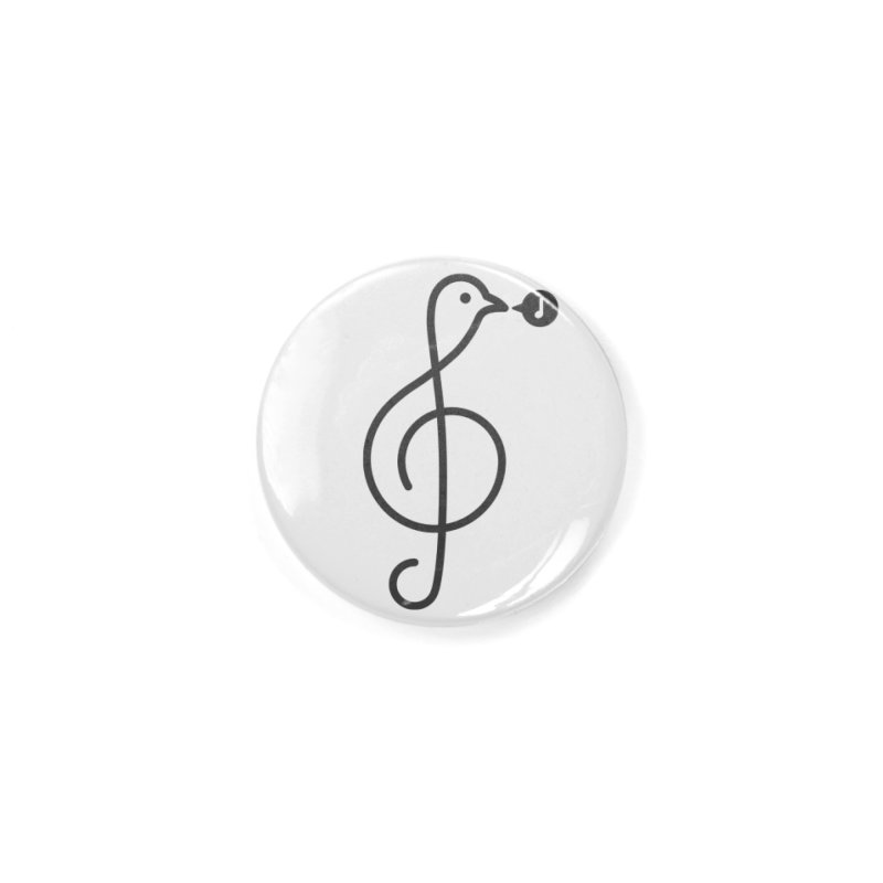 Song Bird Accessories Button by Quick Brown Fox
