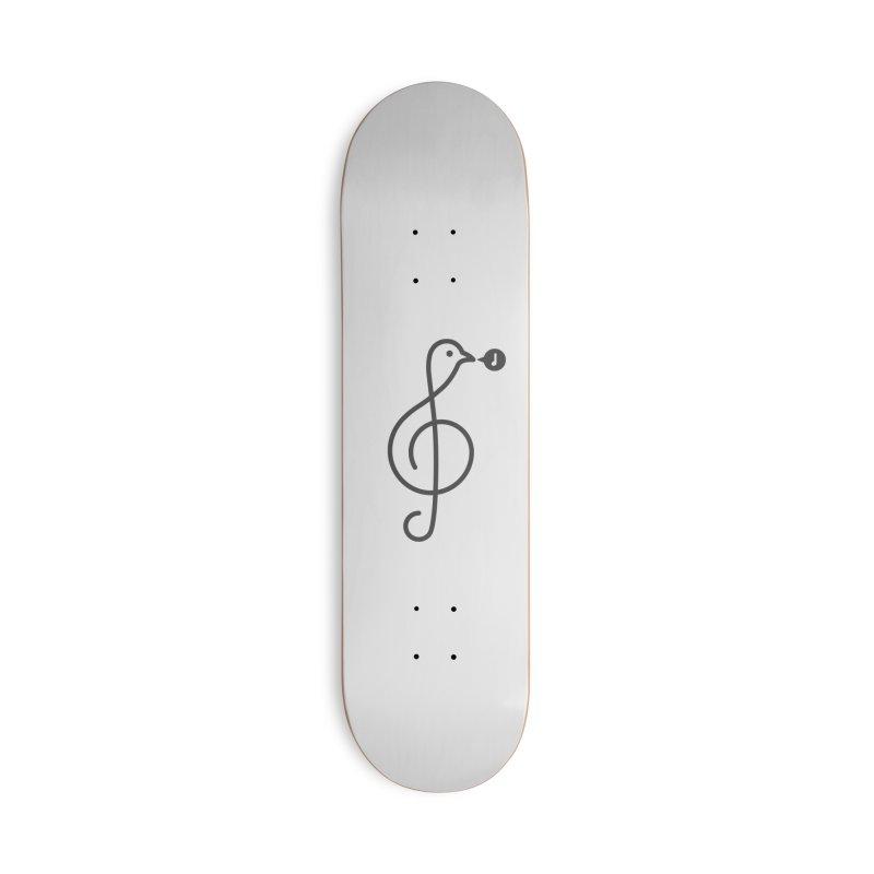 Song Bird Accessories Skateboard by Quick Brown Fox