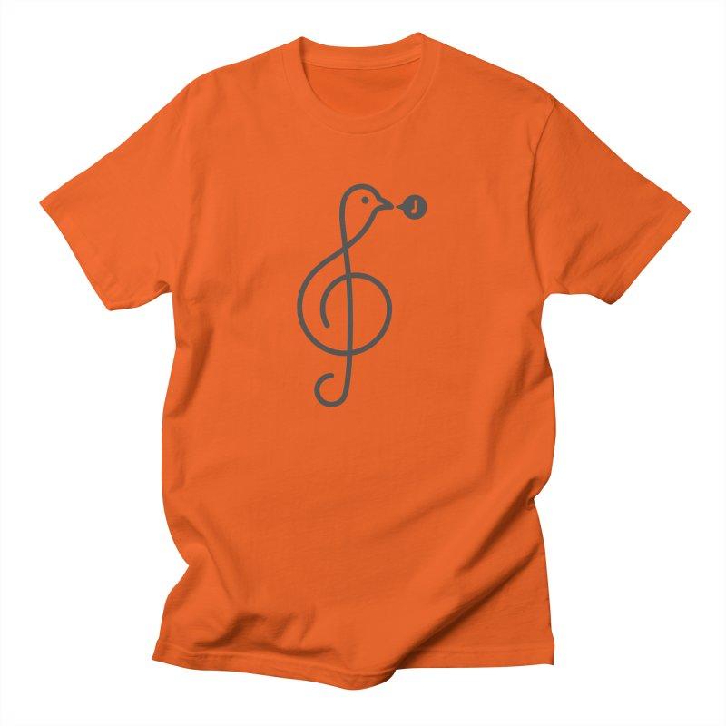 Song Bird Men's T-Shirt by Quick Brown Fox