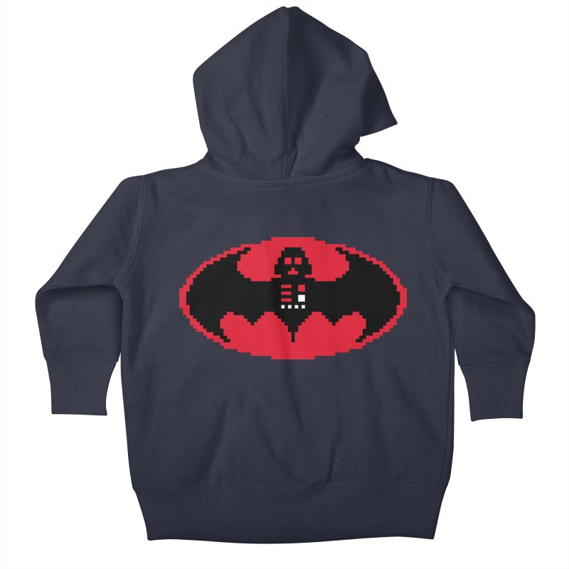 The Villain the Empire Needs Kids Baby Zip-Up Hoody by Quick Brown Fox