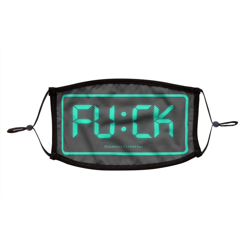 Digital Doom Accessories Face Mask by Quick Brown Fox