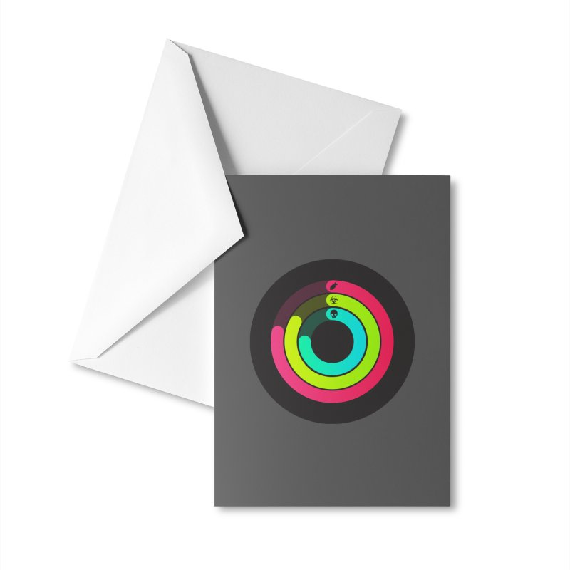 Apocalypse Watch™ Accessories Greeting Card by Quick Brown Fox