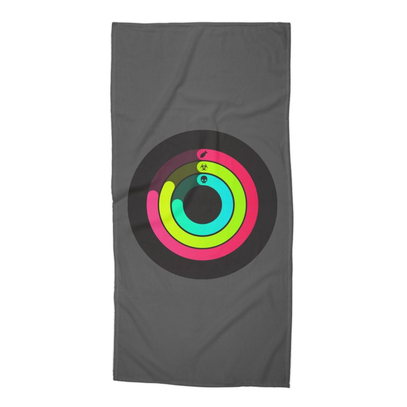 Apocalypse Watch™ Accessories Beach Towel by Quick Brown Fox