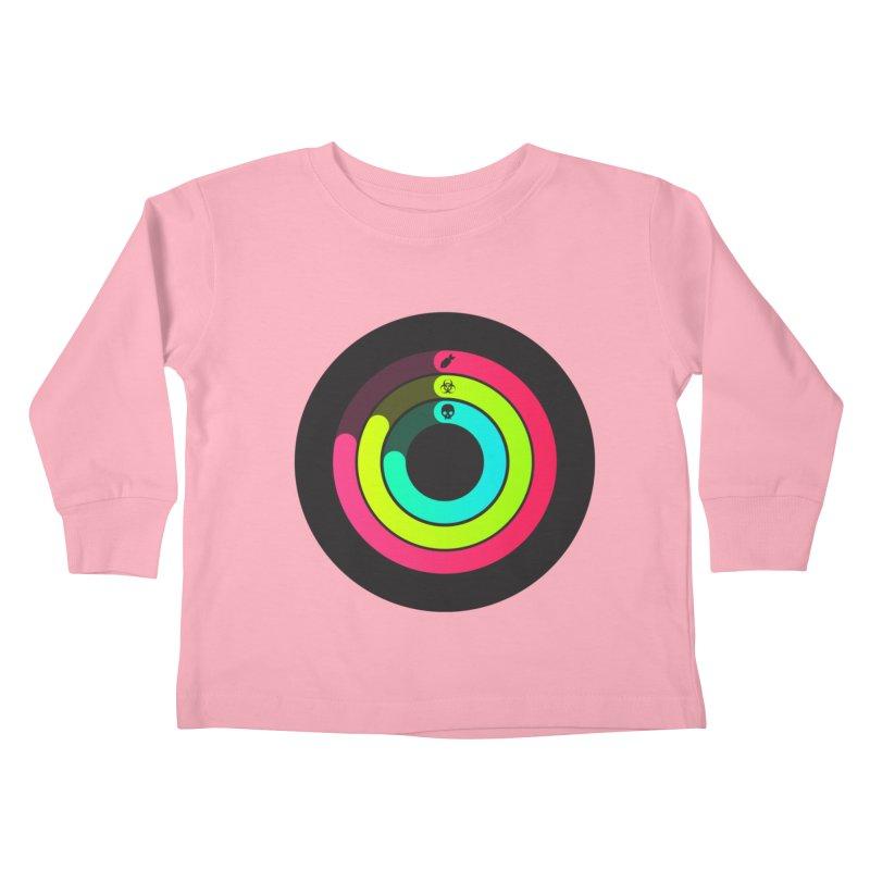 Apocalypse Watch™ Kids Toddler Longsleeve T-Shirt by Quick Brown Fox