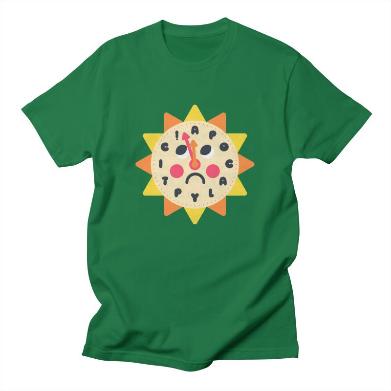 What's the Time Kids? Men's T-Shirt by Quick Brown Fox