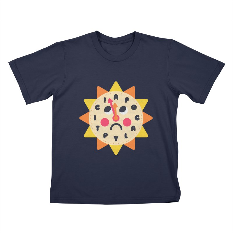 What's the Time Kids? Kids T-Shirt by Quick Brown Fox