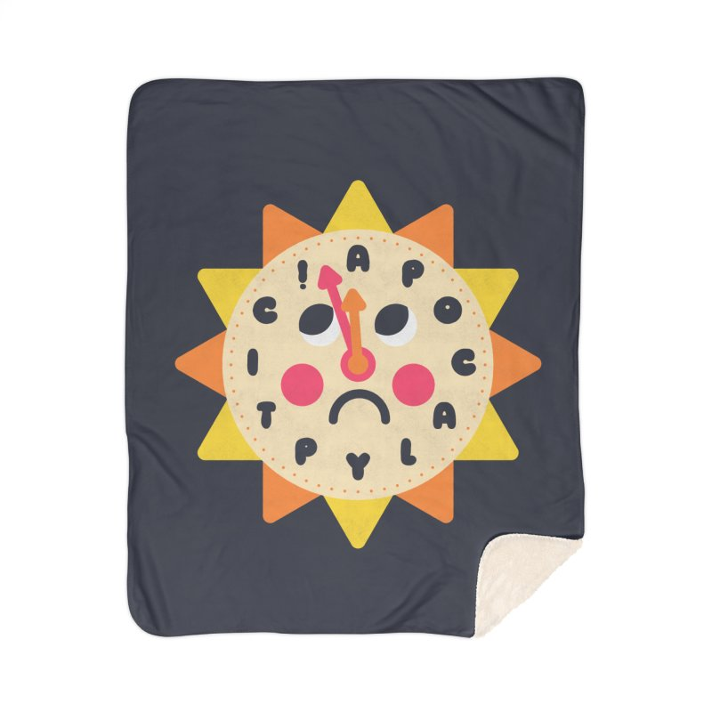 What's the Time Kids? Home Blanket by Quick Brown Fox