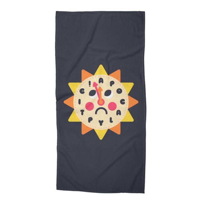 What's the Time Kids? Accessories Beach Towel by Quick Brown Fox