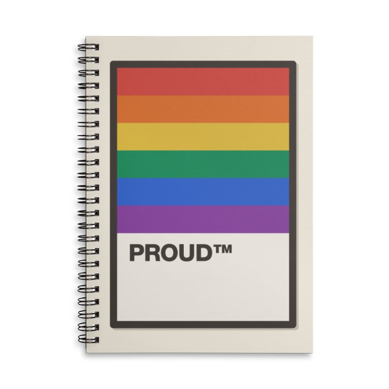 True Colors Accessories Notebook by Quick Brown Fox