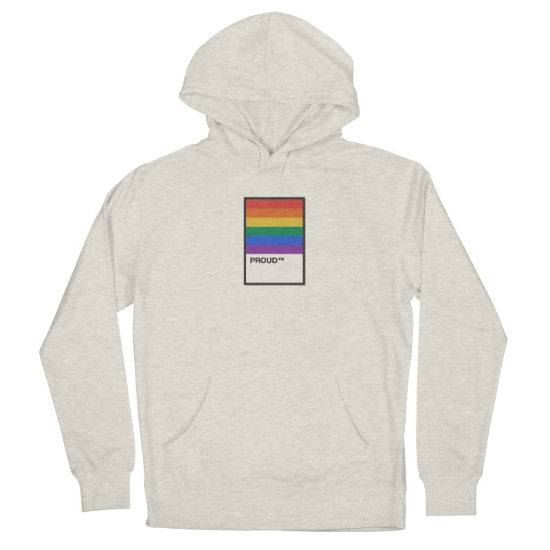 True Colors Men's Pullover Hoody by Quick Brown Fox