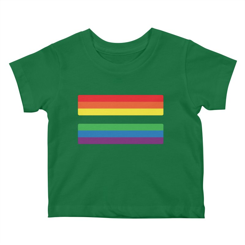 Equals Kids Baby T-Shirt by Quick Brown Fox