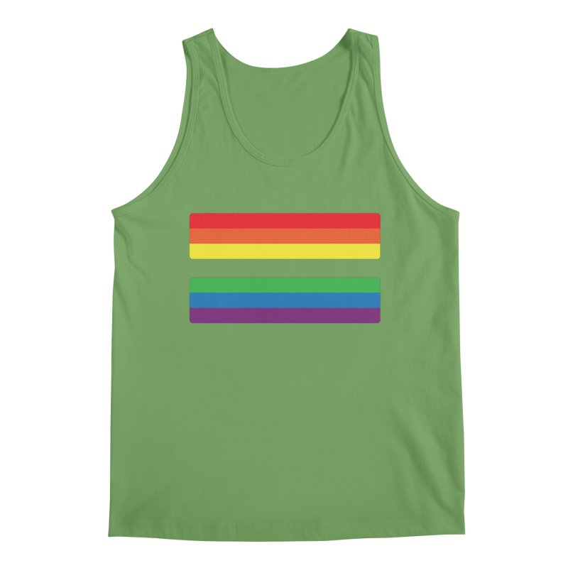 Equals Men's Tank by Quick Brown Fox