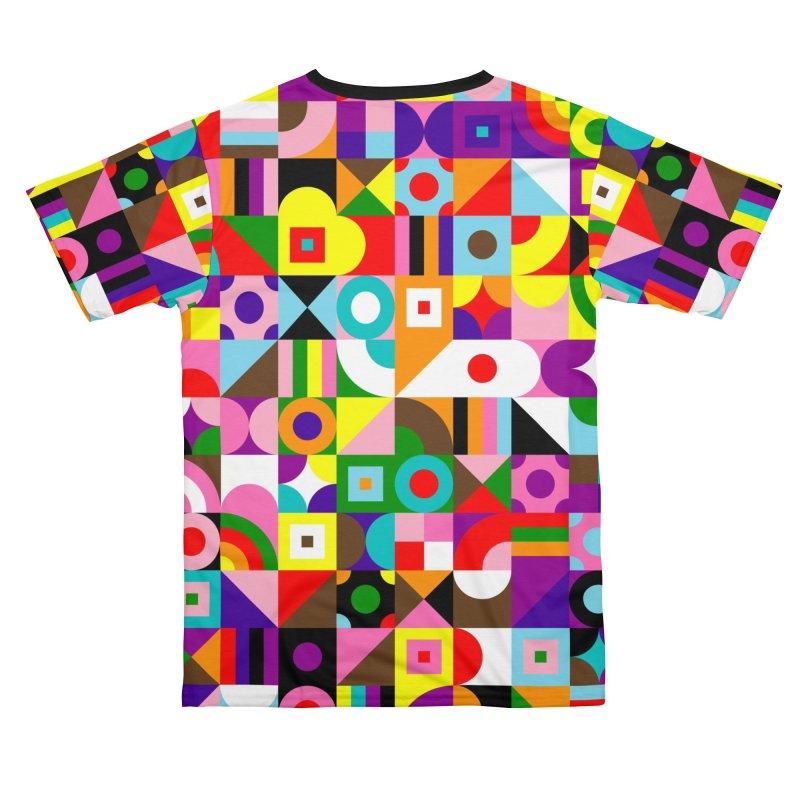 Dream in Color Men's Cut & Sew by Quick Brown Fox