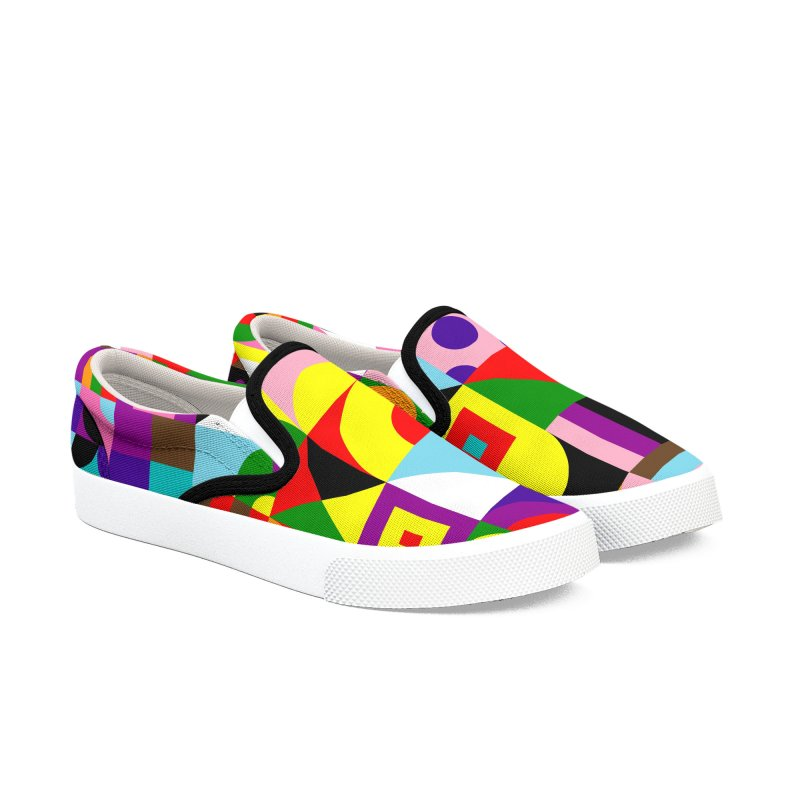 Dream in Color Men's Shoes by Quick Brown Fox