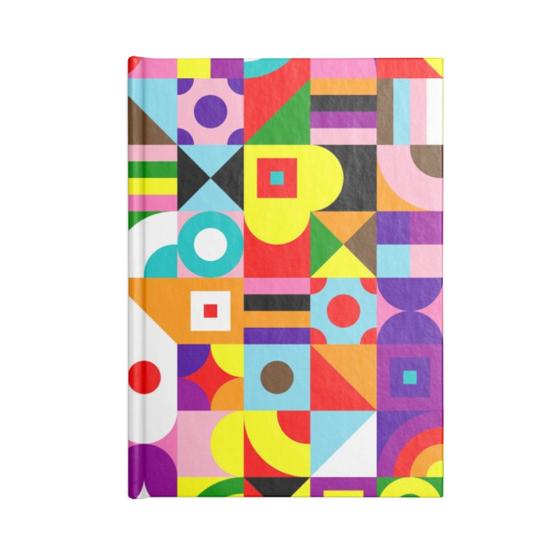 Dream in Color Accessories Notebook by Quick Brown Fox
