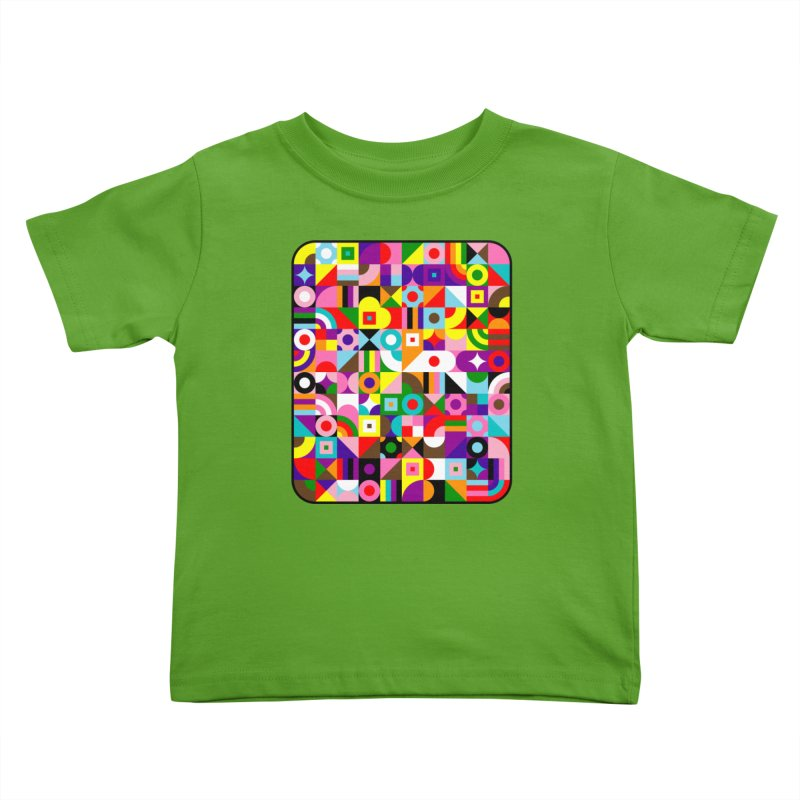 Dream in Color Kids Toddler T-Shirt by Quick Brown Fox