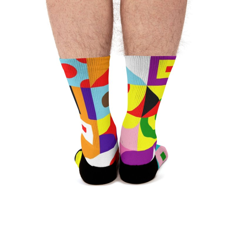 Dream in Color Men's Socks by Quick Brown Fox