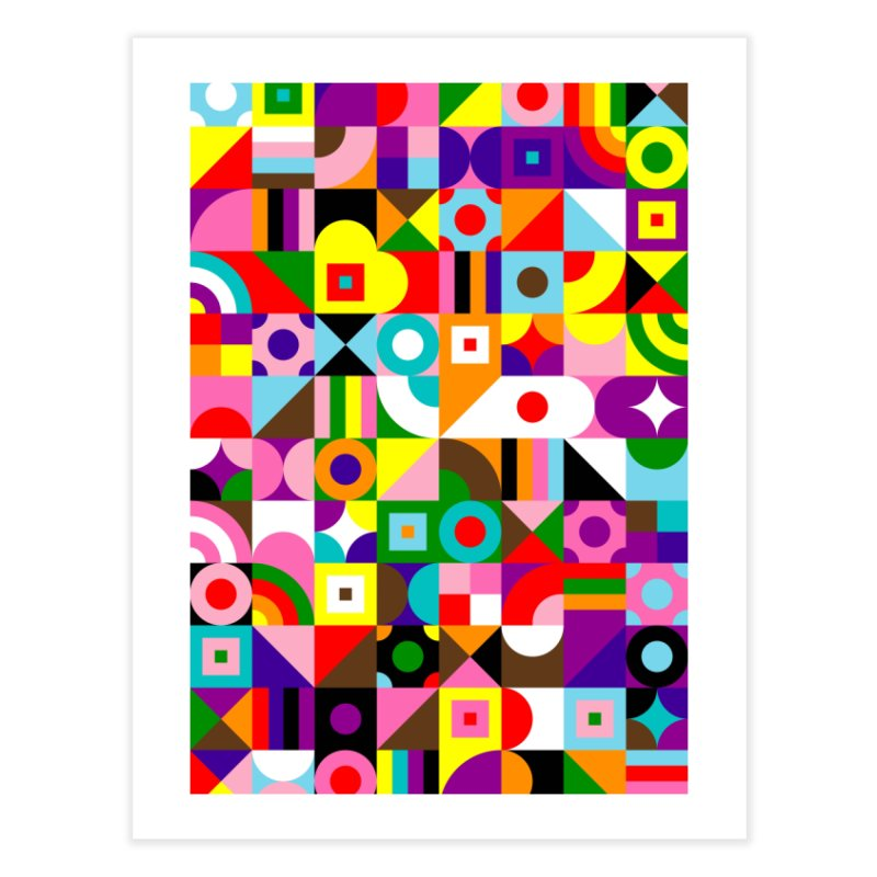 Dream in Color Home Fine Art Print by Quick Brown Fox