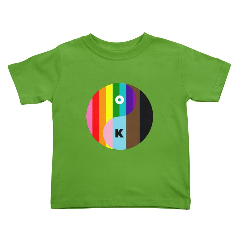 Equilibrium Kids Toddler T-Shirt by Quick Brown Fox
