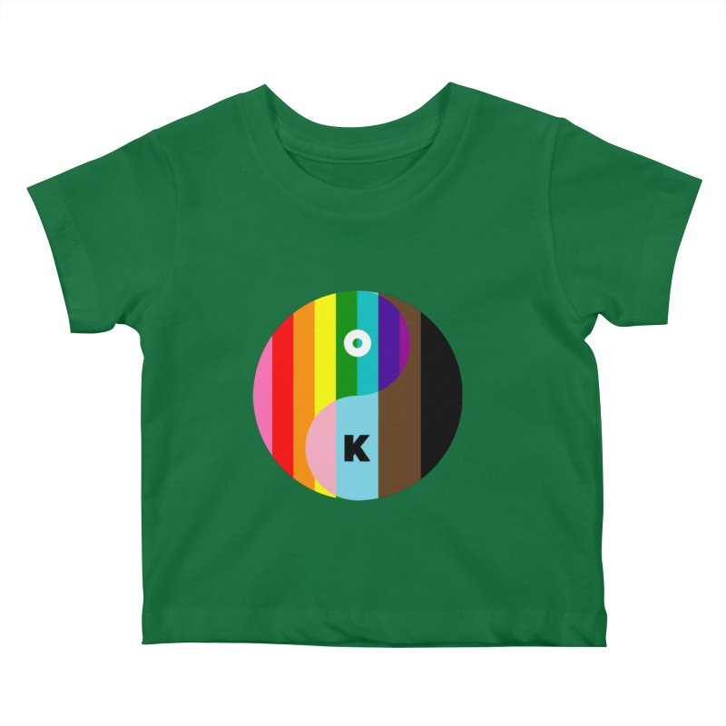 Equilibrium Kids Baby T-Shirt by Quick Brown Fox