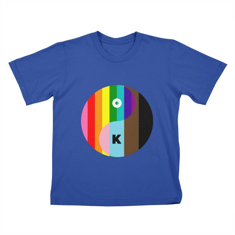 Equilibrium Kids T-Shirt by Quick Brown Fox