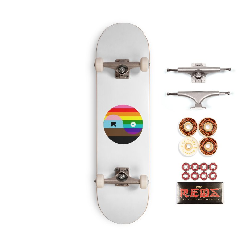 Equilibrium Accessories Skateboard by Quick Brown Fox
