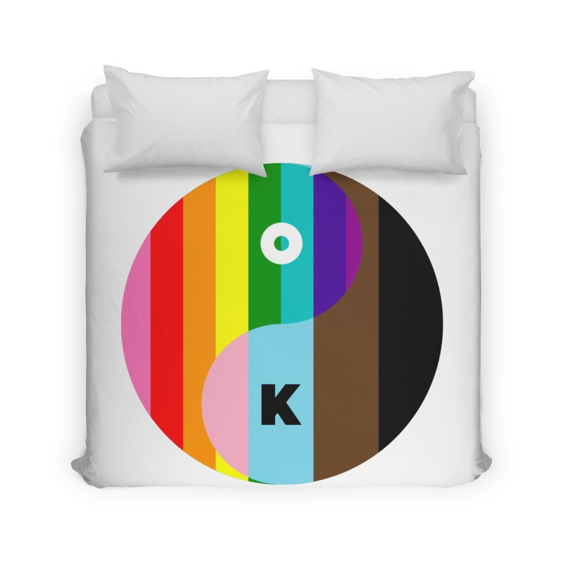 Equilibrium Home Duvet by Quick Brown Fox