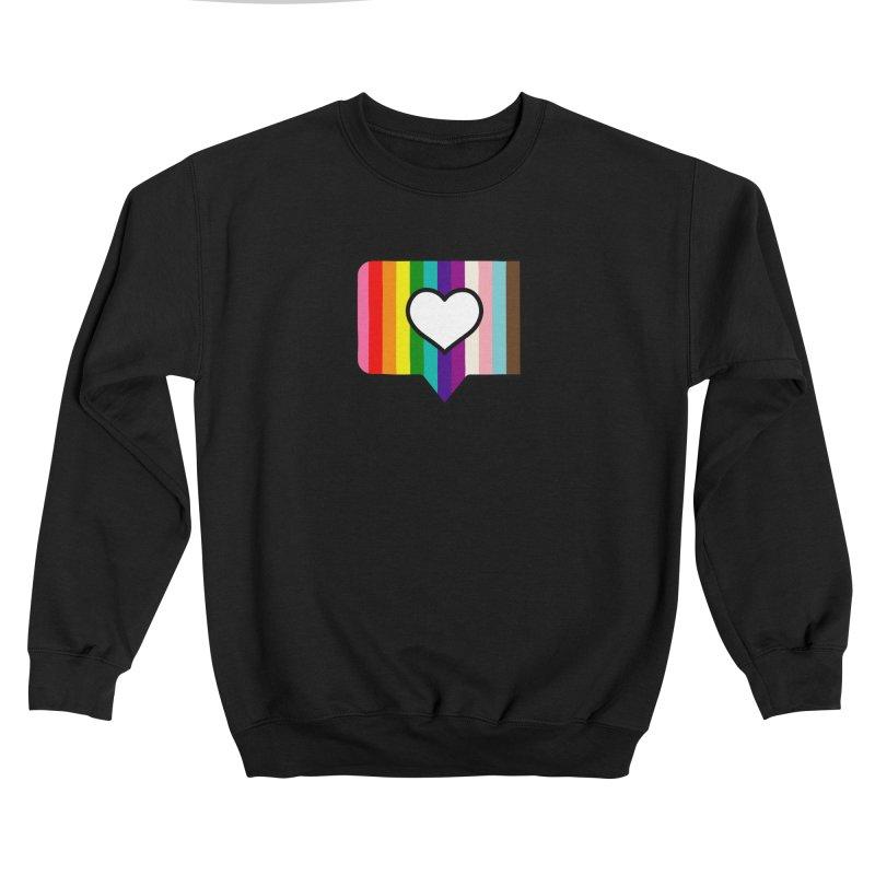 A Little Bit of Love Men's Sweatshirt by Quick Brown Fox