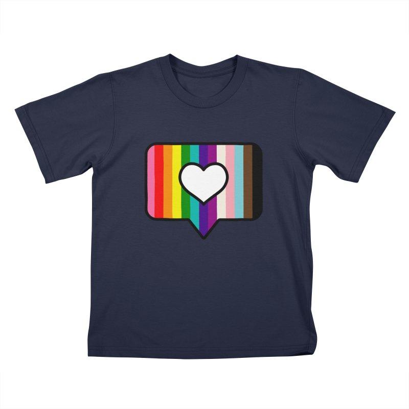 A Little Bit of Love Kids T-Shirt by Quick Brown Fox