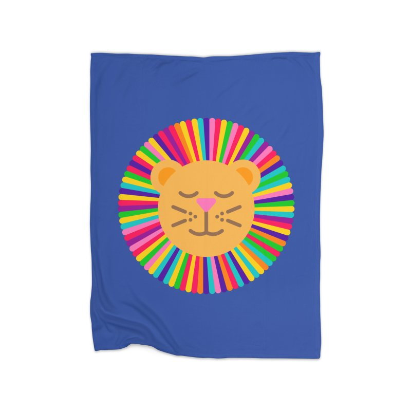 The Proudest Little Lion Home Blanket by Quick Brown Fox