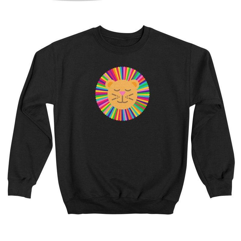 The Proudest Little Lion Men's Sweatshirt by Quick Brown Fox