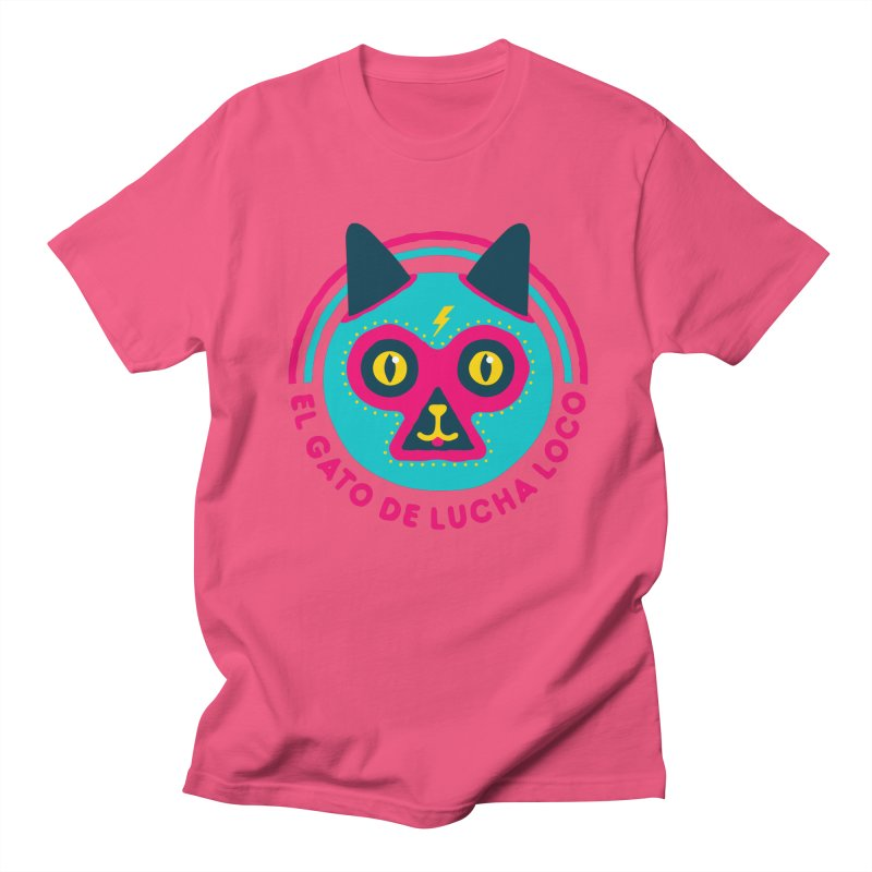 Luchadorable Men's T-shirt by Quick Brown Fox