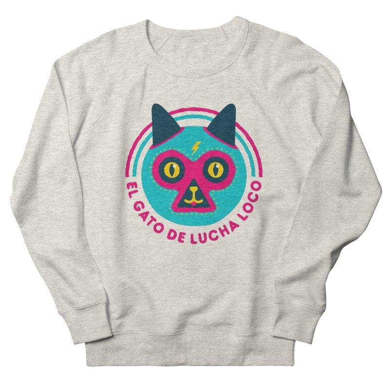 Luchadorable Women's Sweatshirt by Quick Brown Fox