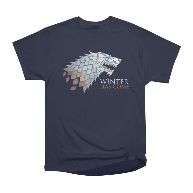 Winter Has Come Men's Classic T-Shirt by Quick Brown Fox