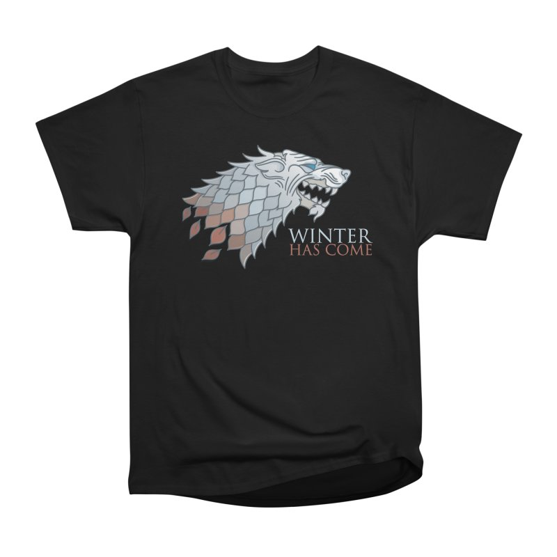Winter Has Come Women's Classic Unisex T-Shirt by Quick Brown Fox