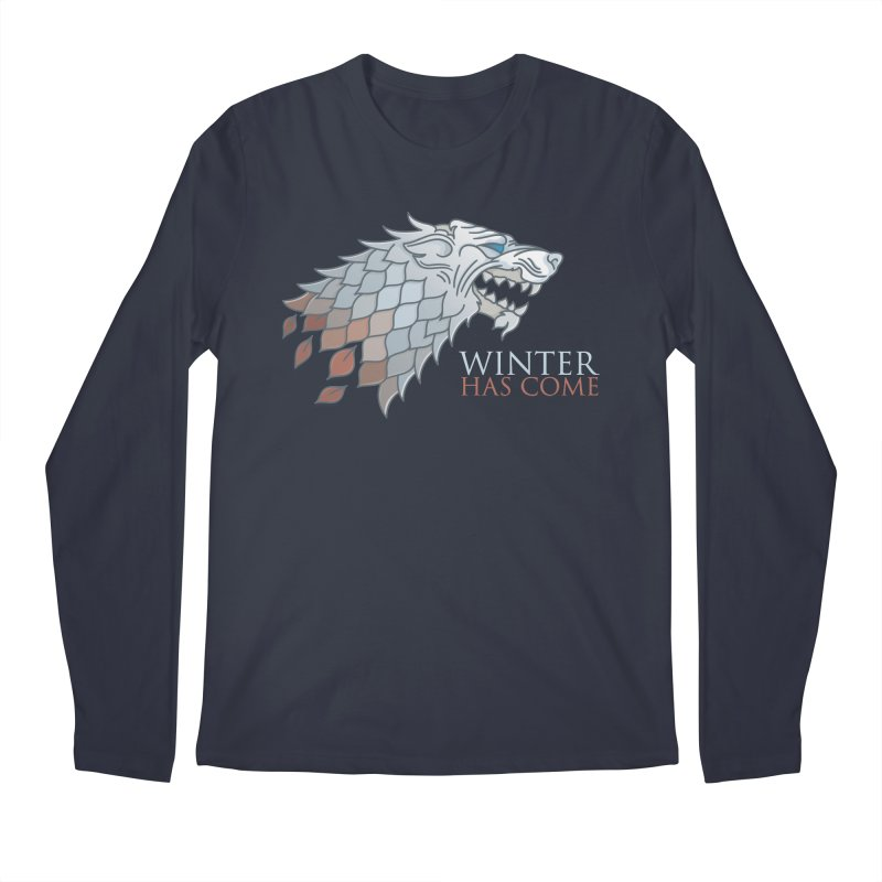 Winter Has Come Men's Longsleeve T-Shirt by Quick Brown Fox