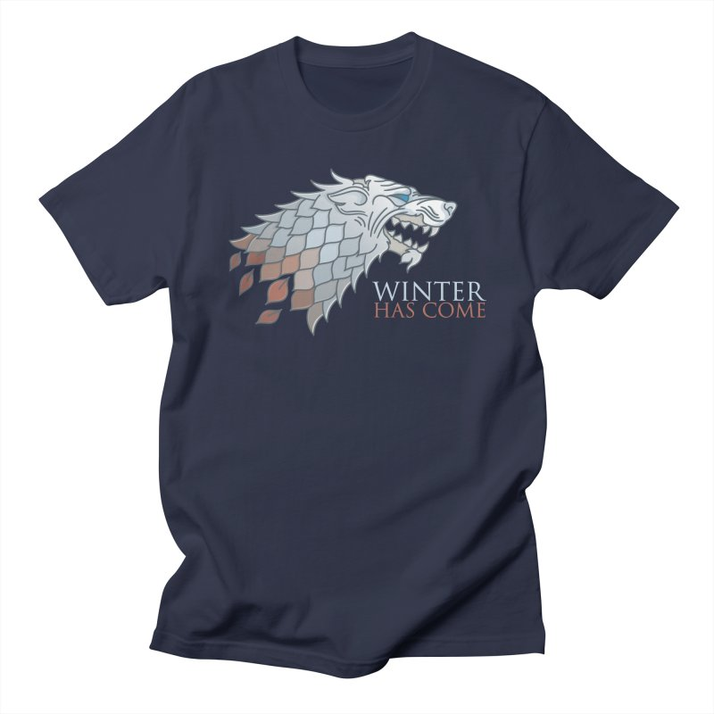 Winter Has Come Women's Unisex T-Shirt by Quick Brown Fox