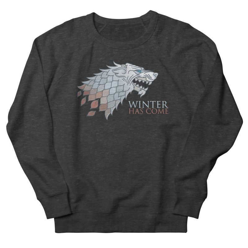 Winter Has Come Men's Sweatshirt by Quick Brown Fox
