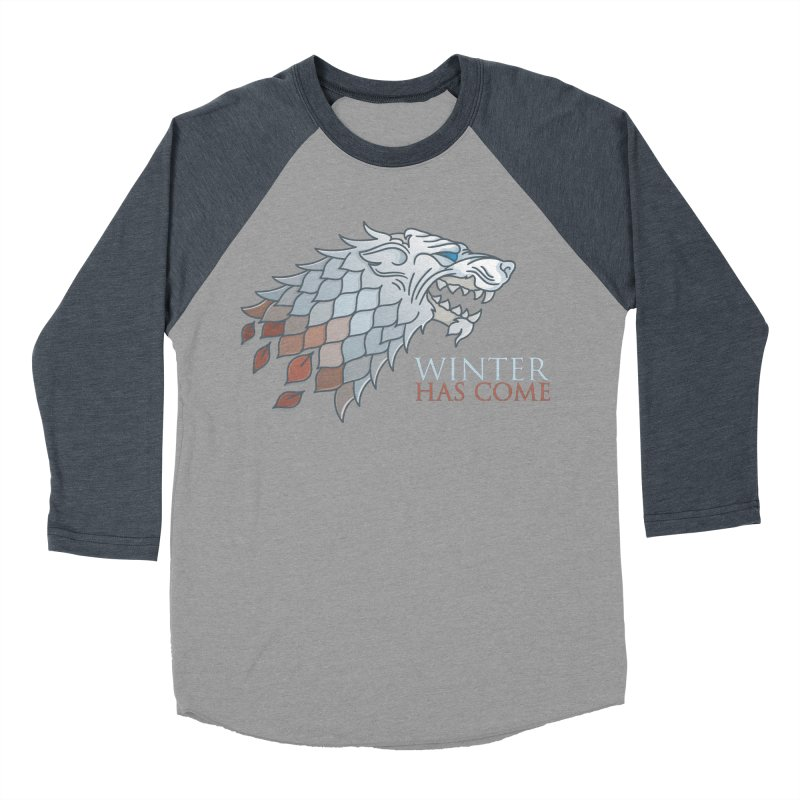 Winter Has Come Women's Baseball Triblend T-Shirt by Quick Brown Fox