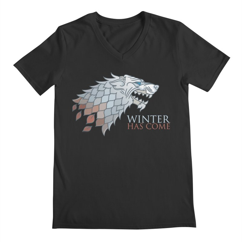 Winter Has Come Men's V-Neck by Quick Brown Fox
