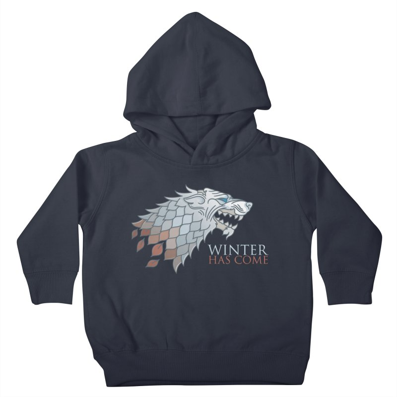 Winter Has Come Kids Toddler Pullover Hoody by Quick Brown Fox