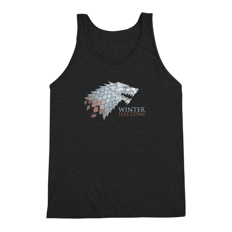 Winter Has Come Men's Triblend Tank by Quick Brown Fox